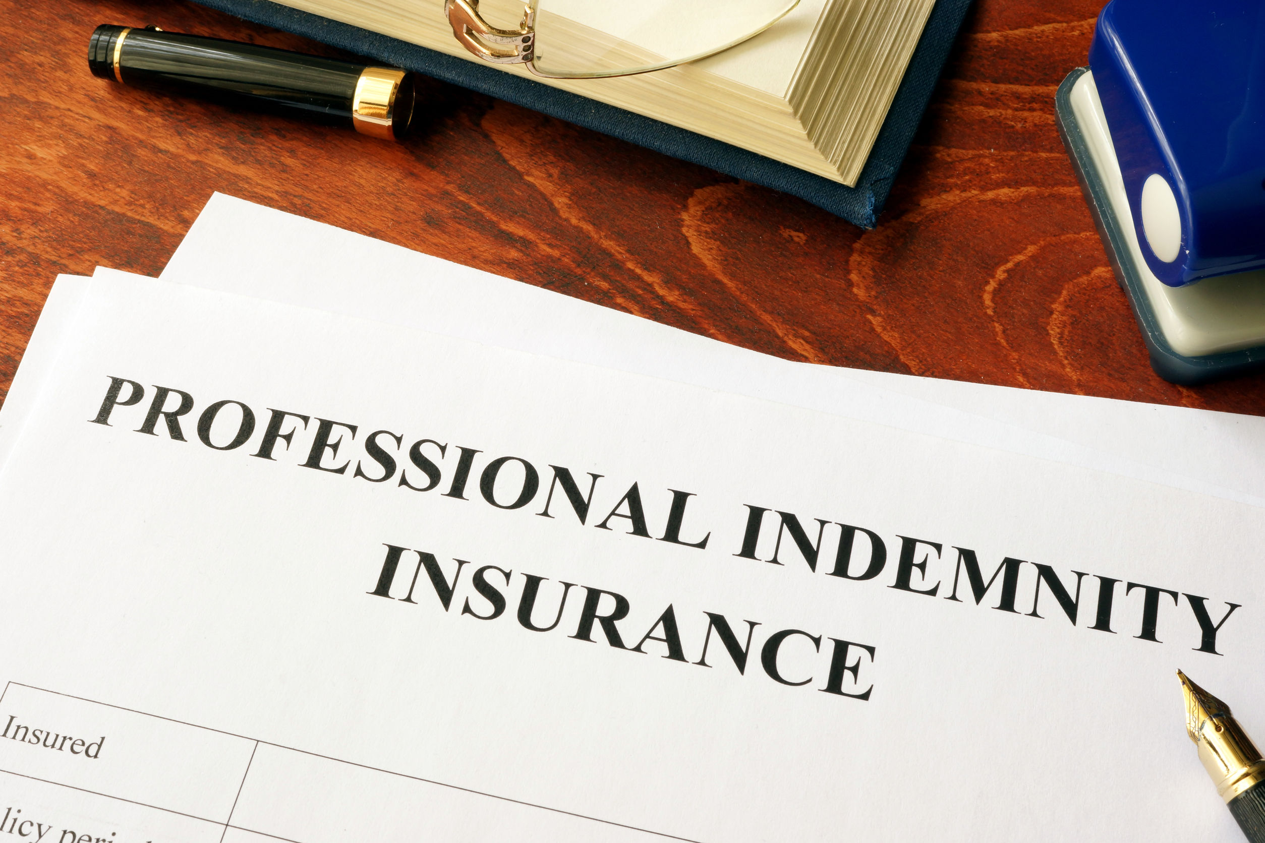 What are the coverage and benefits of professional indemnity insurance?